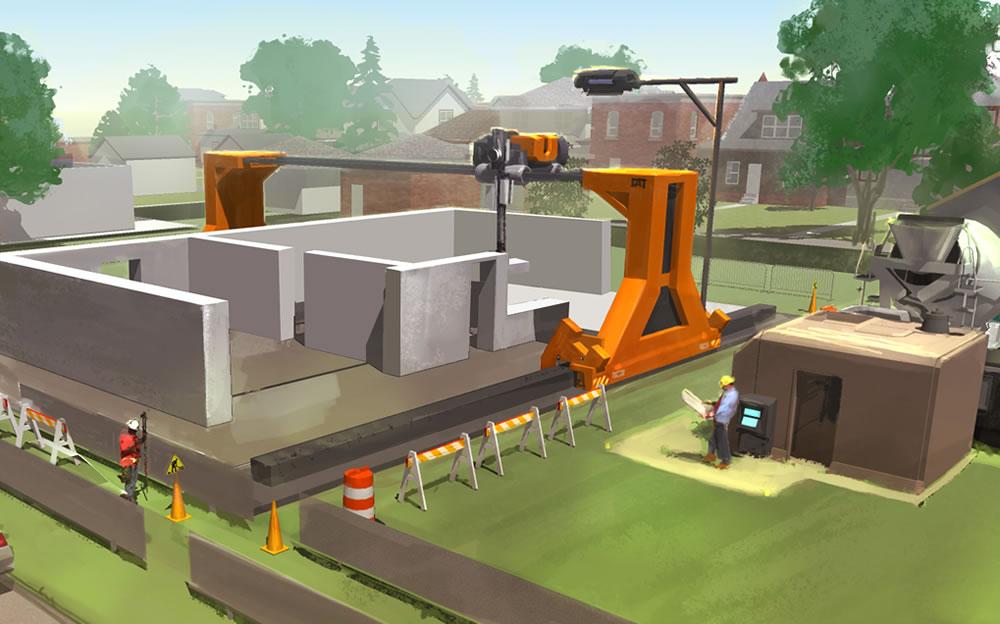 La impresión 3D en la construcción