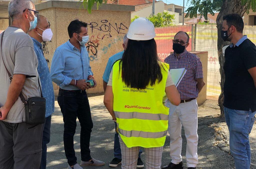 Grupo Zaragoza 2012 comienza con las obras de ampliación del consultorio médico de Churra